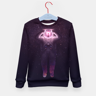 Thumbnail image of The mind blown Kid's Sweater, Live Heroes
