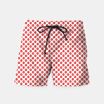 Miniature de image de Sexy red and white polka dot Swim Shorts, Live Heroes