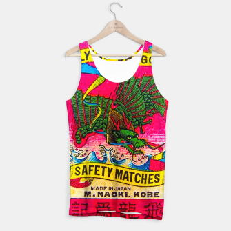 Thumbnail image of Vintage Japanese Matches Dragon Kobe Tank Top, Live Heroes