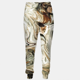 Thumbnail image of Brown Marble Sweatpants, Live Heroes