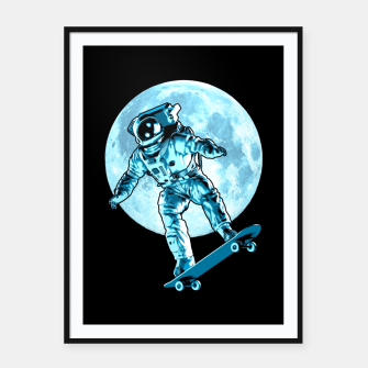 Thumbnail image of Astro Flip Framed poster, Live Heroes