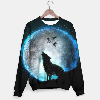 Thumbnail image of Midnight Howl Sweatshirt, Live Heroes