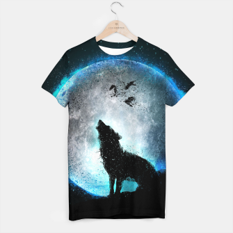 Thumbnail image of Midnight Howl T-Shirt, Live Heroes