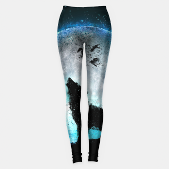Thumbnail image of Midnight Howl Leggings, Live Heroes
