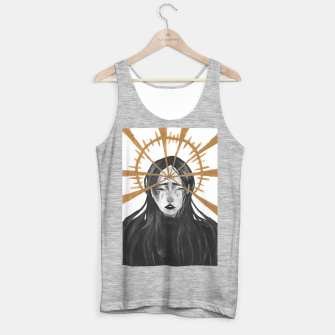 Miniaturka Third eye Tank Top regular, Live Heroes