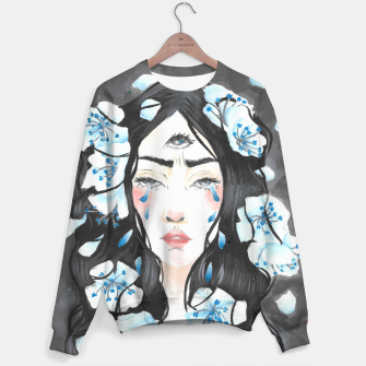 Third eye blue Sweater imagen en miniatura