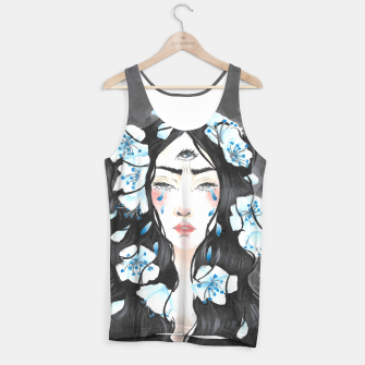 Third eye blue Tank Top imagen en miniatura