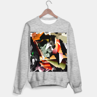 Thumbnail image of Cuadros meltados Sweater regular, Live Heroes