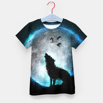 Thumbnail image of Midnight Howl T-Shirt für Kinder, Live Heroes