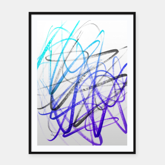 Thumbnail image of Cool Expressions Framed poster, Live Heroes