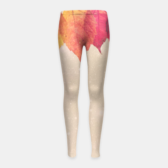 Thumbnail image of The Fall Girl's Leggings, Live Heroes