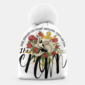 Thumbnail image of the crown Beanie, Live Heroes
