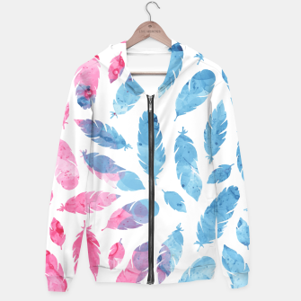 Thumbnail image of Peaceful Feather Hoodie, Live Heroes