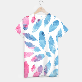 Thumbnail image of Peaceful Feather T-shirt, Live Heroes