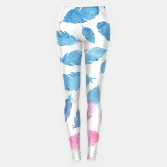 Thumbnail image of Peaceful Feather Leggings, Live Heroes