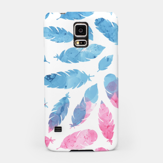 Thumbnail image of Peaceful Feather Samsung Case, Live Heroes