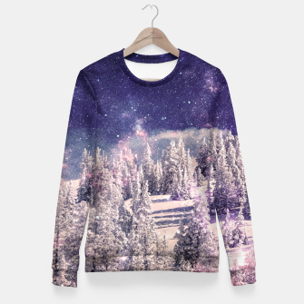 Miniature de image de Ides of space Fitted Waist Sweater, Live Heroes