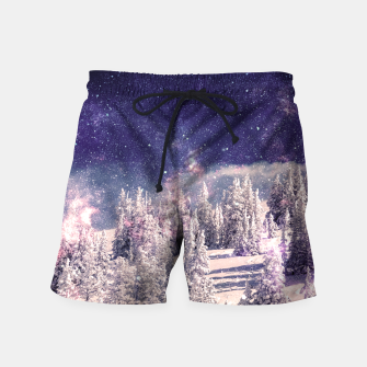 Thumbnail image of Ides of space Swim Shorts, Live Heroes