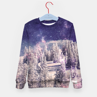 Miniatur Ides of space Kid's Sweater, Live Heroes