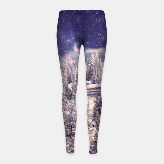 Thumbnail image of Ides of space Girl's Leggings, Live Heroes