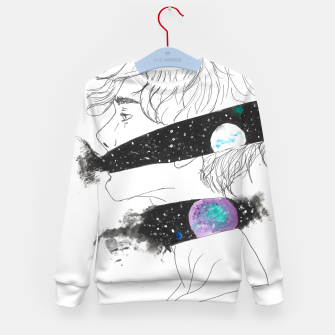 Thumbnail image of starseeed series 01 Kid's Sweater, Live Heroes