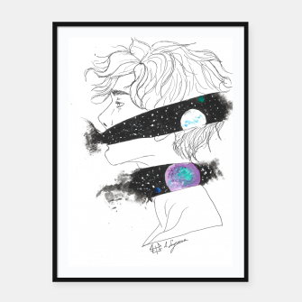 Thumbnail image of starseeed series 01 Framed poster, Live Heroes