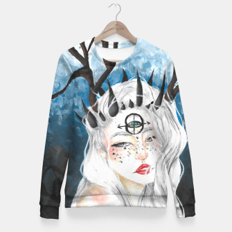 Miniature de image de Let me bloom Fitted Waist Sweater, Live Heroes