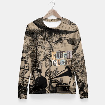 Miniature de image de The Creative Process of Avant-Garde Music Fitted Waist Sweater, Live Heroes