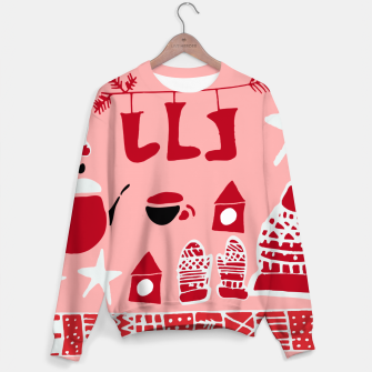 Thumbnail image of winter gear pink Sweater, Live Heroes