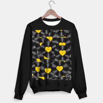 Thumbnail image of Vinyl Love Sweater regular, Live Heroes