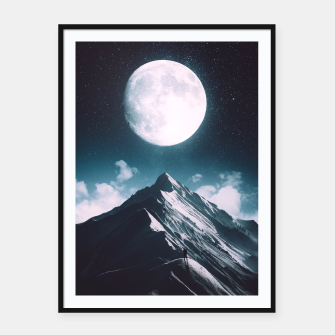 Thumbnail image of New Moon Framed poster, Live Heroes