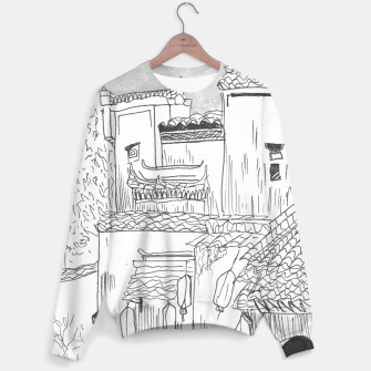 Thumbnail image of Houses Sweater, Live Heroes