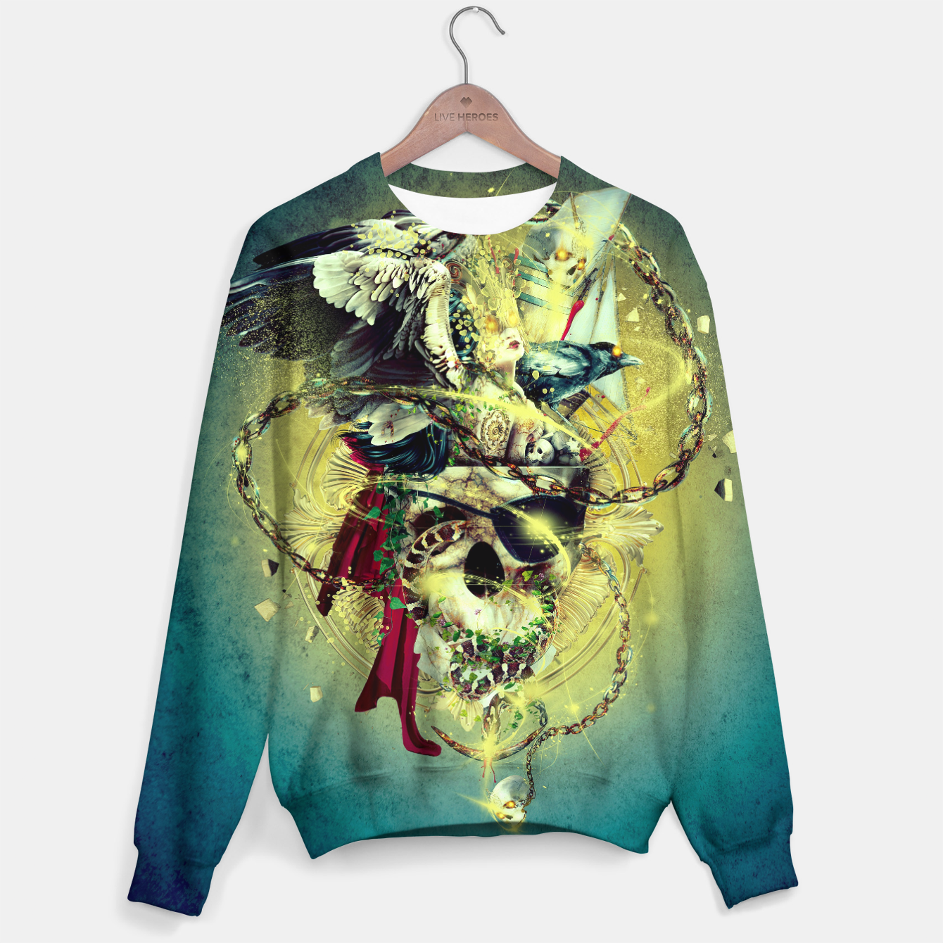 Image of Lost In The Sea II Sweater - Live Heroes