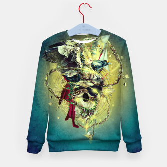Thumbnail image of Lost In The Sea II Kid's Sweater, Live Heroes