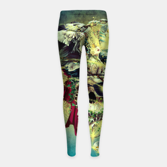 Thumbnail image of Lost In The Sea II Girl's Leggings, Live Heroes