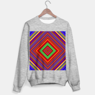Thumbnail image of Multicolored Line Burst Pattern Sweater regular, Live Heroes