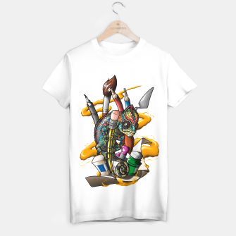Thumbnail image of Chameleon - Camiseta Regular, Live Heroes