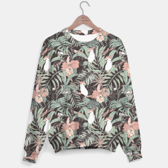 Thumbnail image of Exotic birds in the jungle 01 Sudadera, Live Heroes