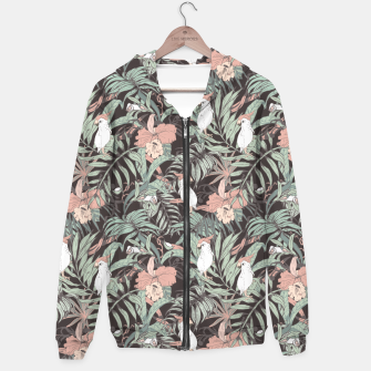 Miniature de image de Exotic birds in the jungle 01 Sudadera con capucha, Live Heroes