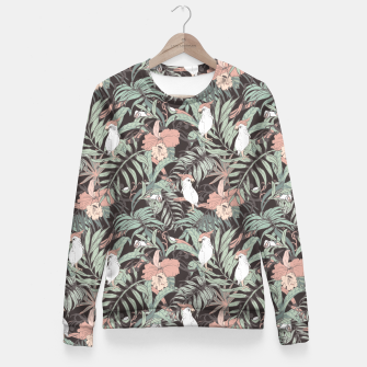 Miniature de image de Exotic birds in the jungle 01 Sudadera entallada, Live Heroes