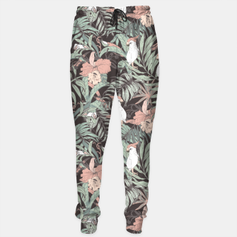 Thumbnail image of Exotic birds in the jungle 01 Pantalones de chándal, Live Heroes
