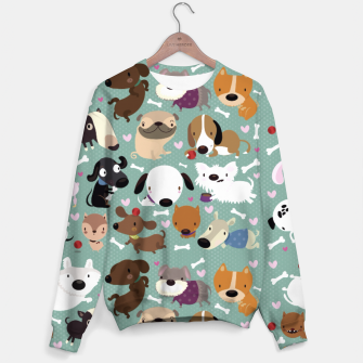 Thumbnail image of Dogs pattern Sweater, Live Heroes