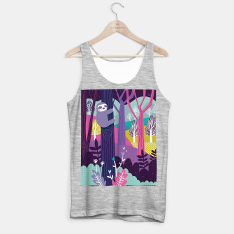 Miniature de image de Sloth in woods Tank Top regular, Live Heroes