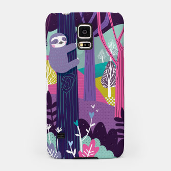 Thumbnail image of Sloth in woods Samsung Case, Live Heroes