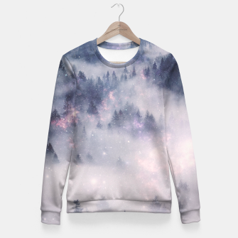 Thumbnail image of Space is Yours Fitted Waist Sweater, Live Heroes