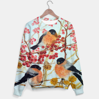 Miniatur Bullfinches_oil Sweater, Live Heroes