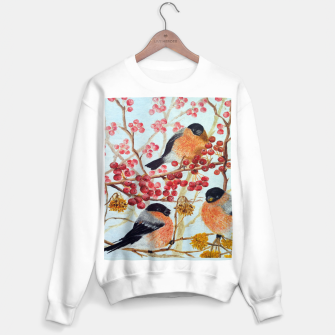 Miniatur Bullfinches_oil Sweater regular, Live Heroes