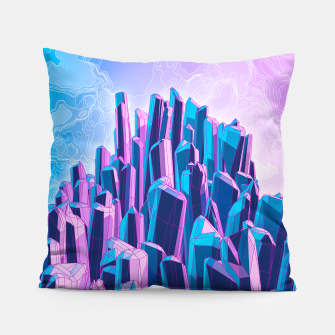 Thumbnail image of Crystal Peak Pillow, Live Heroes