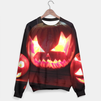 Thumbnail image of The Pumpkin Dream Sweater, Live Heroes