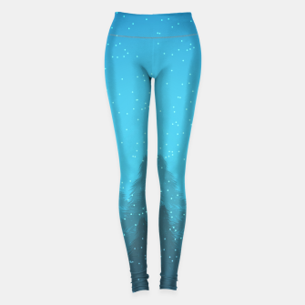 Miniaturka Winter Land Blue Leggings, Live Heroes